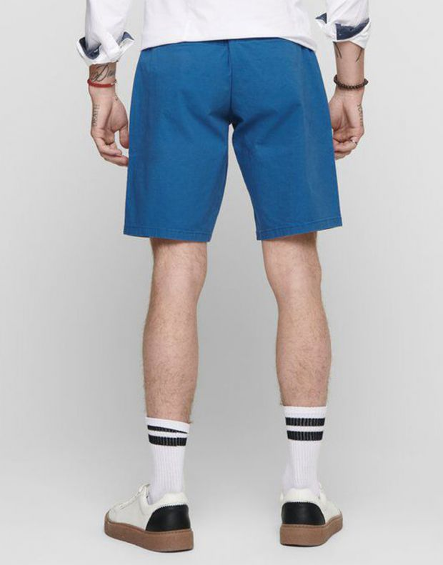 ONLY&SONS Slim Chino Shorts Dark Blue - 22012174/dark blue - 2