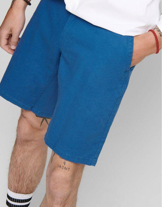 ONLY&SONS Slim Chino Shorts Dark Blue - 22012174/dark blue - 3