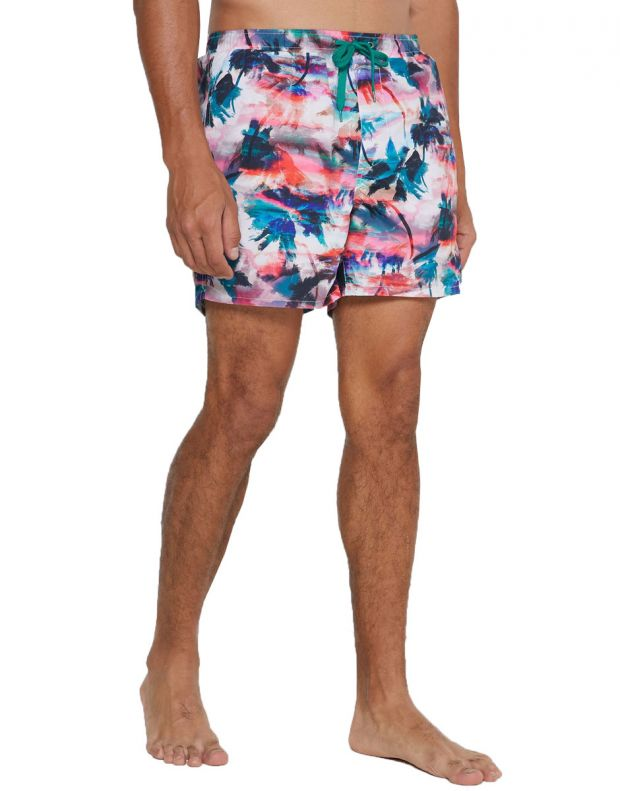 ONLY&SONS Ted Swim AOP Shorts Coral - 22016138/coral - 1
