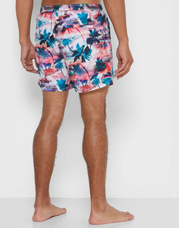 ONLY&SONS Ted Swim AOP Shorts Coral - 22016138/coral - 2