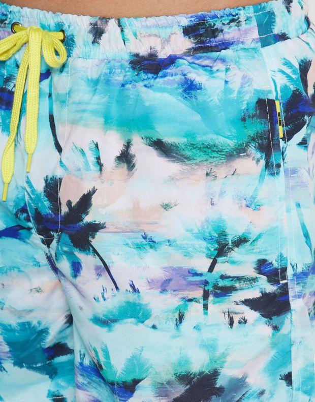 ONLY&SONS Ted Swim AOP Shorts Dress Blues - 22016138/dress blues - 2