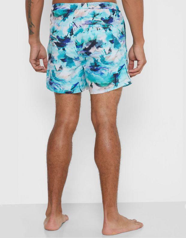 ONLY&SONS Ted Swim AOP Shorts Dress Blues - 22016138/dress blues - 3