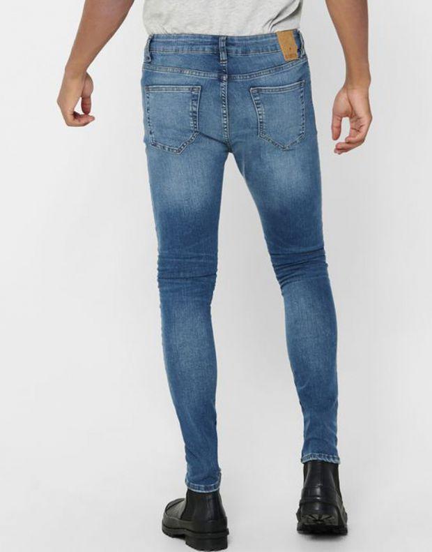 ONLY&SONS Warp Skinny Jeans Blue - 22017114/denim - 2