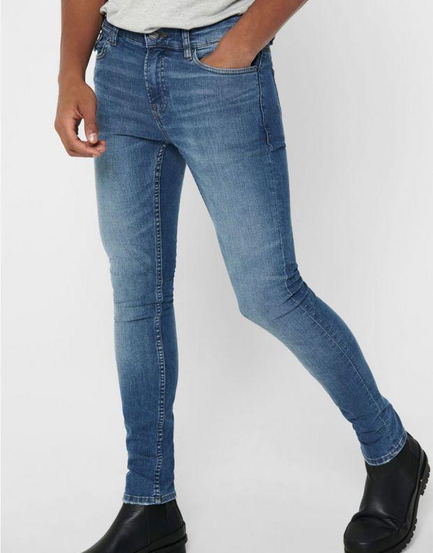 ONLY&SONS Warp Skinny Jeans Blue - 22017114/denim - 3