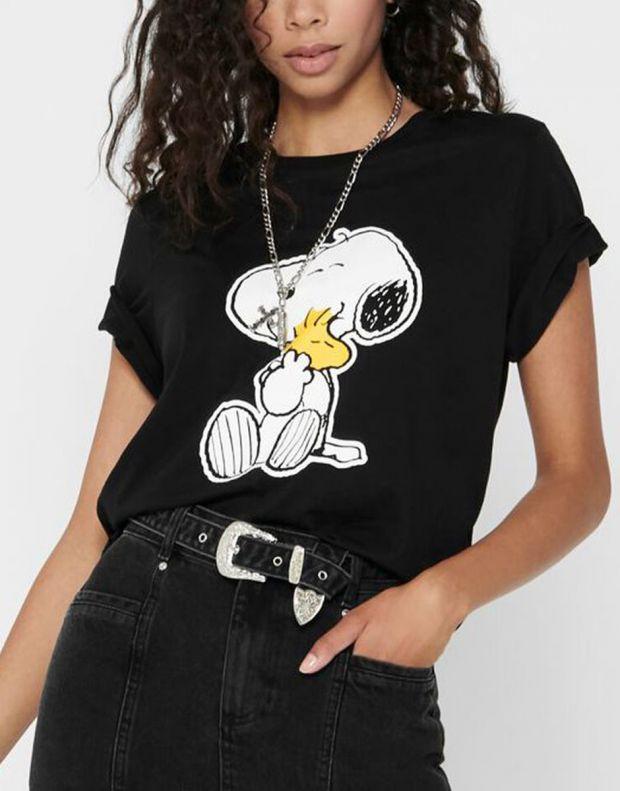 ONLY Snoopy Printed Tee Black - 15211548/black - 3