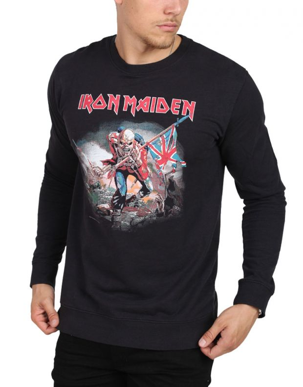 ONLY&SONS Iron Maiden Crew Neck Sweat Black - 22008724/black - 1
