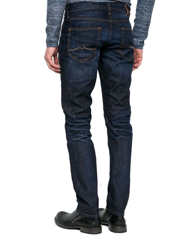 MUSTANG Oregon Tapered Jeans Indigo - 2