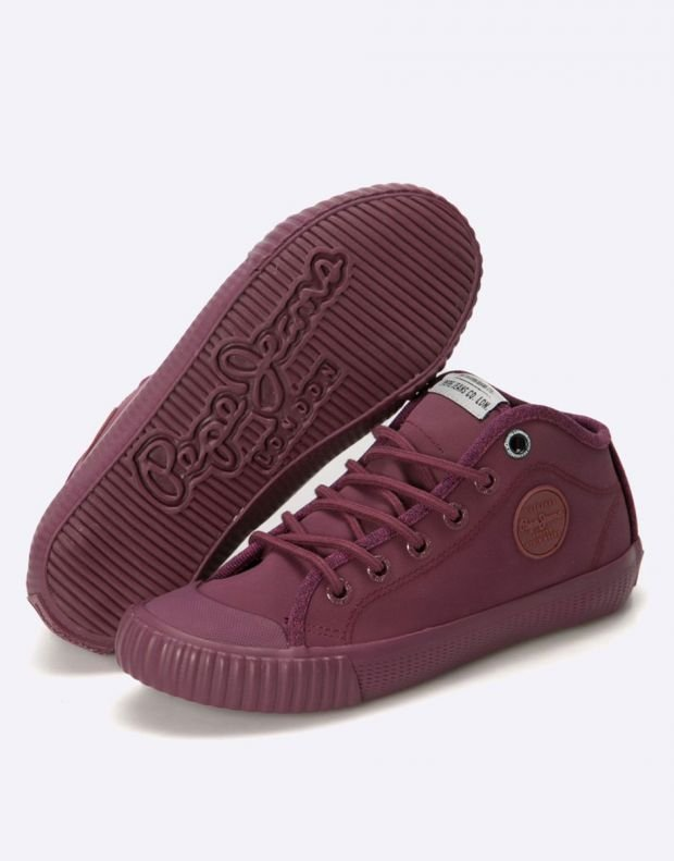 PEPE JEANS Industry Water Sneakers Bordo - PBS30244-299 - 5