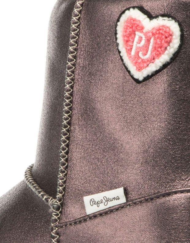 PEPE JEANS Angel Teeth Boots Purple - PGS50133-964 - 7