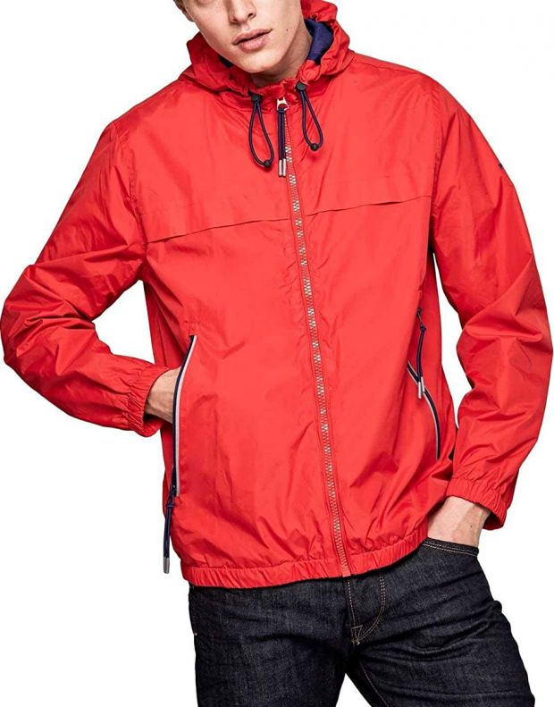 PEPE JEANS Balos Jacket Red - PM402048-240 - 1