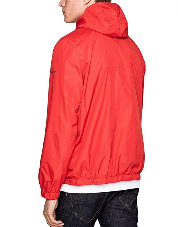 PEPE JEANS Balos Jacket Red - PM402048-240 - 2