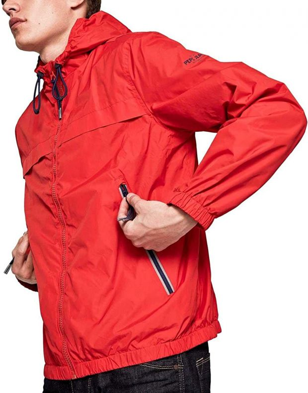 PEPE JEANS Balos Jacket Red - PM402048-240 - 3