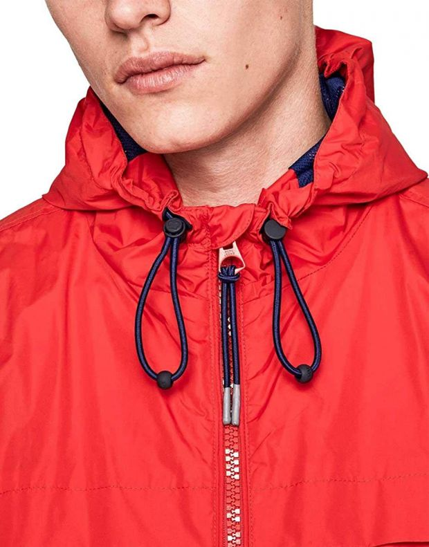 PEPE JEANS Balos Jacket Red - PM402048-240 - 4