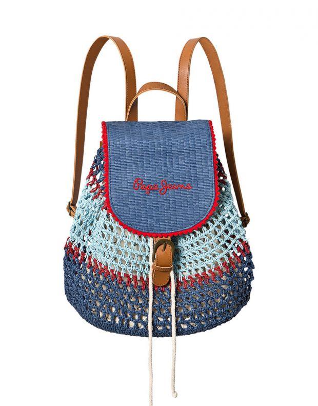 PEPE JEANS Macrame Backpack Blue - PG030320-0AA - 1