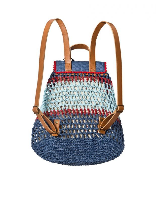 PEPE JEANS Macrame Backpack Blue - PG030320-0AA - 2