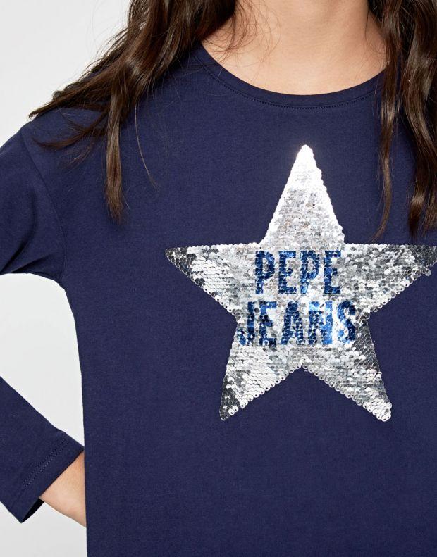 PEPE JEANS Margaret Blouse Blue - PG502295-580 - 4