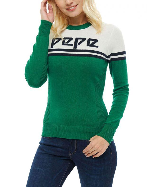 PEPE JEANS Olimpik Knitwear Green - PL701539-683 - 1