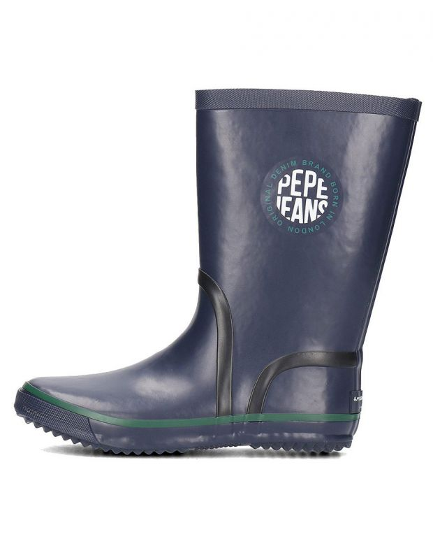 PEPE JEANS Rain Logo Boots Navy - PBS50076-595 - 1