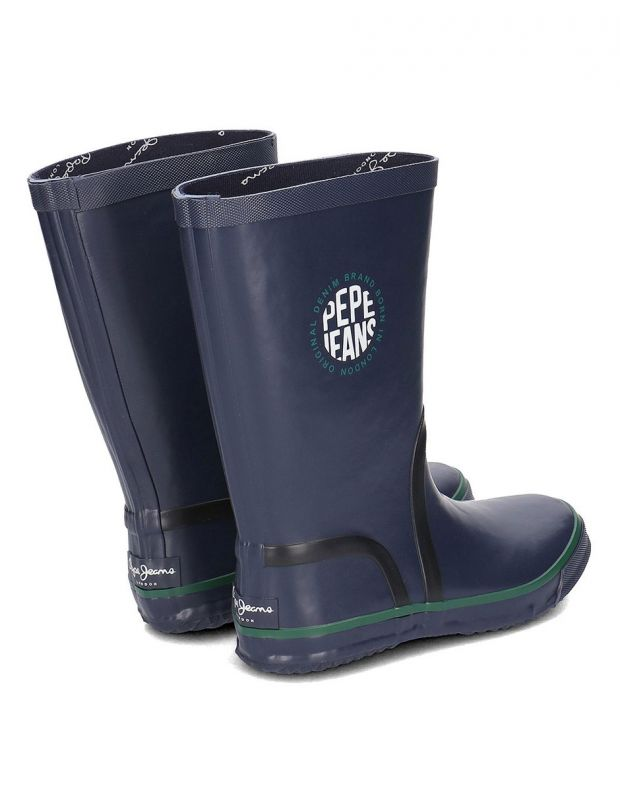 PEPE JEANS Rain Logo Boots Navy - PBS50076-595 - 4