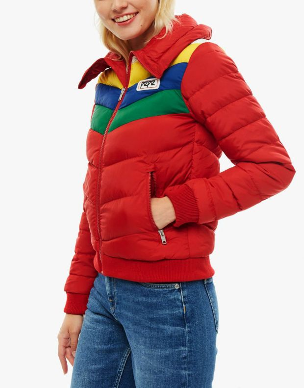 PEPE JEANS Vika Jacket Red - PL401723-280 - 3