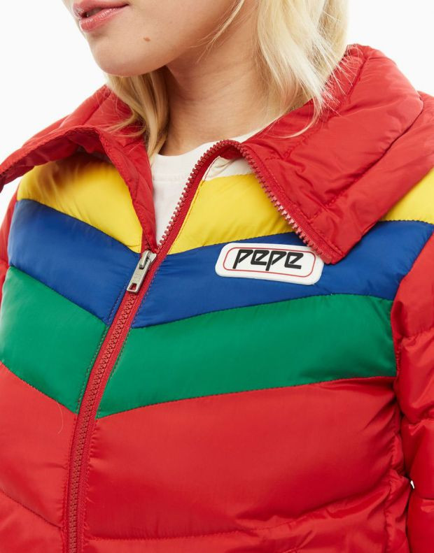 PEPE JEANS Vika Jacket Red - PL401723-280 - 4