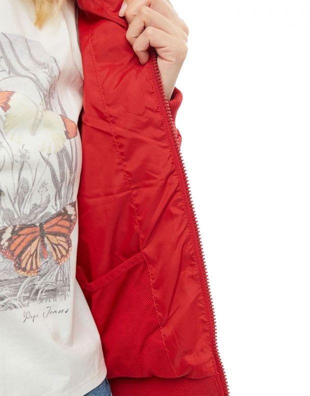 PEPE JEANS Vika Jacket Red - PL401723-280 - 5