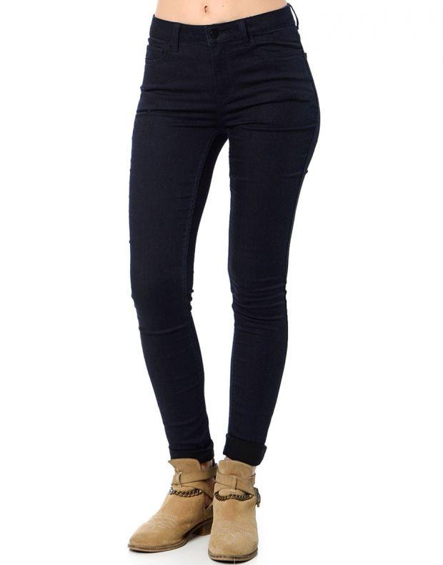 PIECES Normal Bel Skinny Leggings Denim - 17061191/blue - 1