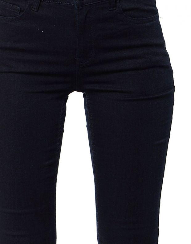 PIECES Normal Bel Skinny Leggings Denim - 17061191/blue - 4