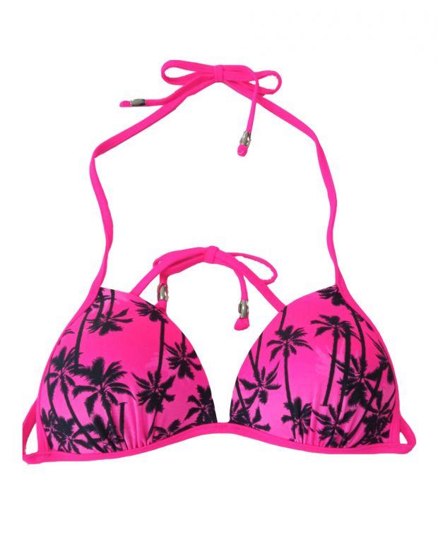 PIECES Palms Triangle Swim Top Rapsberry - 17065741/rapsberry - 1