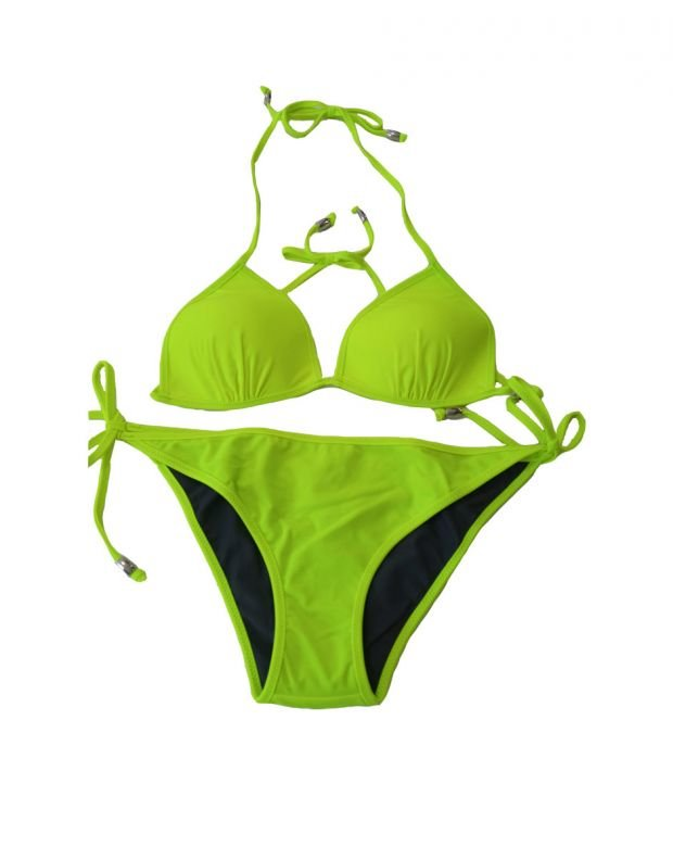 PIECES Triangle Swim Top Lime - 17065735/lime - 3