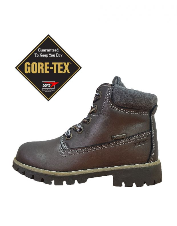 PRIMIGI Evan Gore-Tex Dark Brown - 65923 - 1