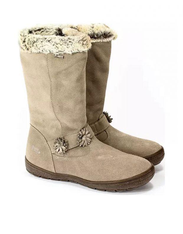 PRIMIGI Flower Gore-Tex Boots Fur Beige - 81801 - 3