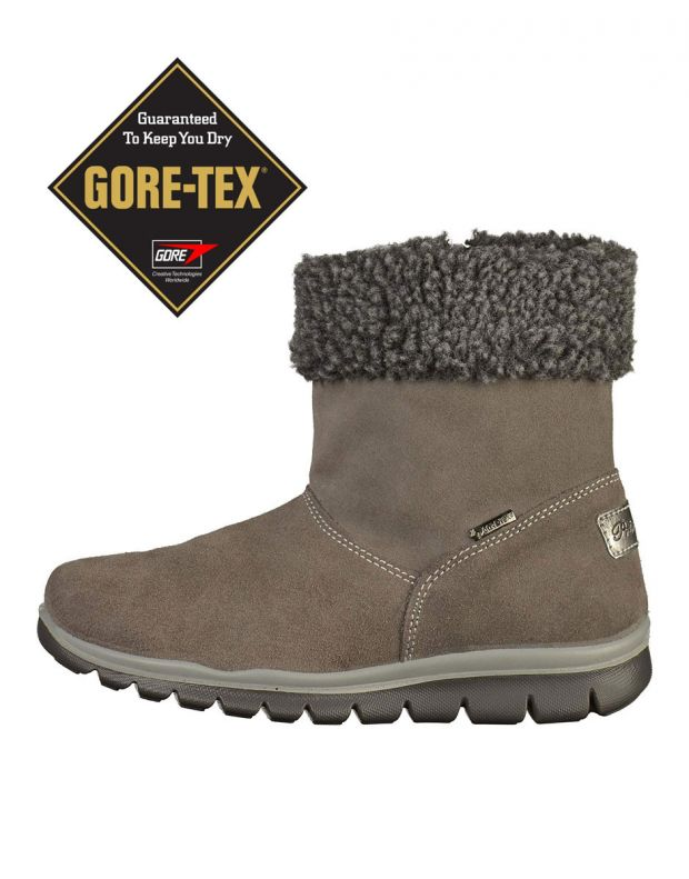 PRIMIGI Fluffy Gore-Tex Boots Anthra - 85921 - 1