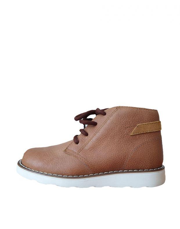 PRIMIGI Vitello Boots Cognac - 1
