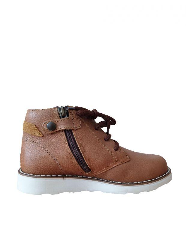 PRIMIGI Vitello Boots Cognac - 2
