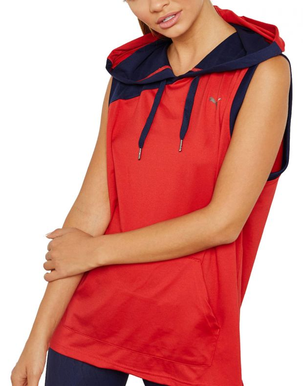 PUMA A.C.E. DryCELL Hoodie Red - 516764-02 - 1
