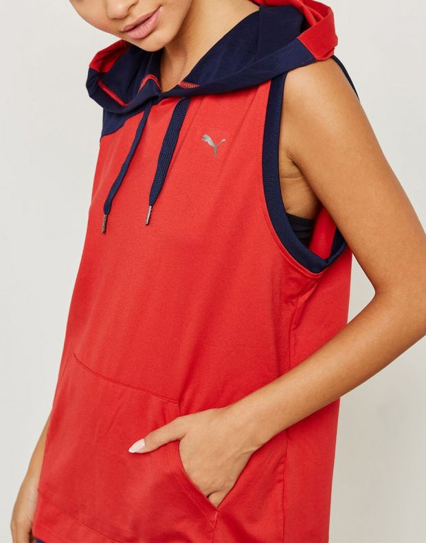 PUMA A.C.E. DryCELL Hoodie Red - 516764-02 - 3