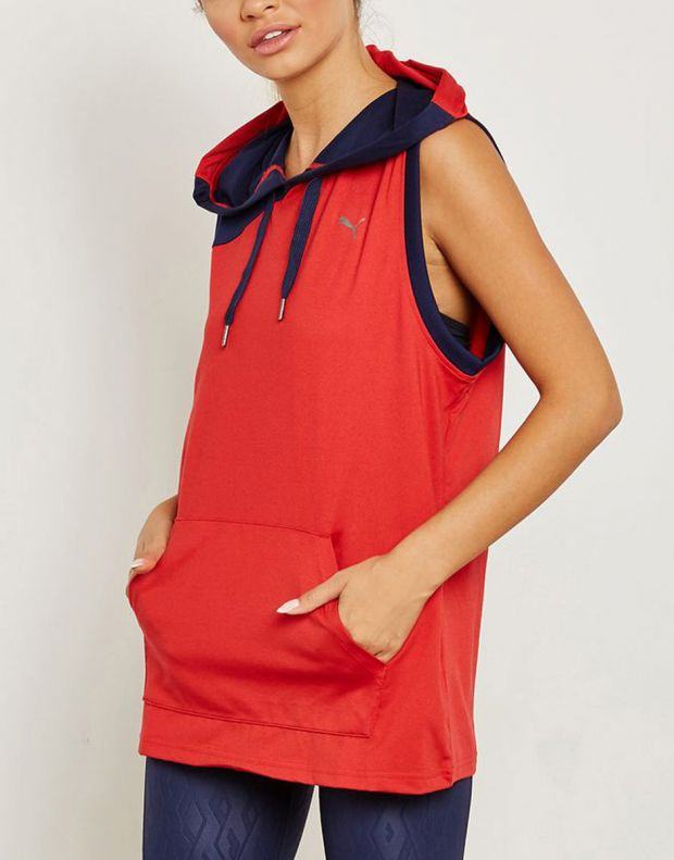 PUMA A.C.E. DryCELL Hoodie Red - 516764-02 - 4