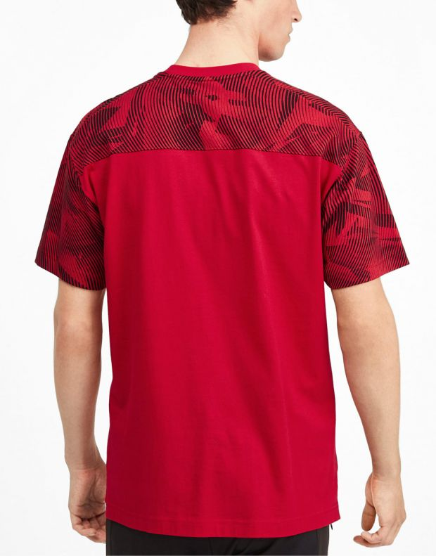 PUMA AC Milan Casuals Tee Red - 756150-01 - 2