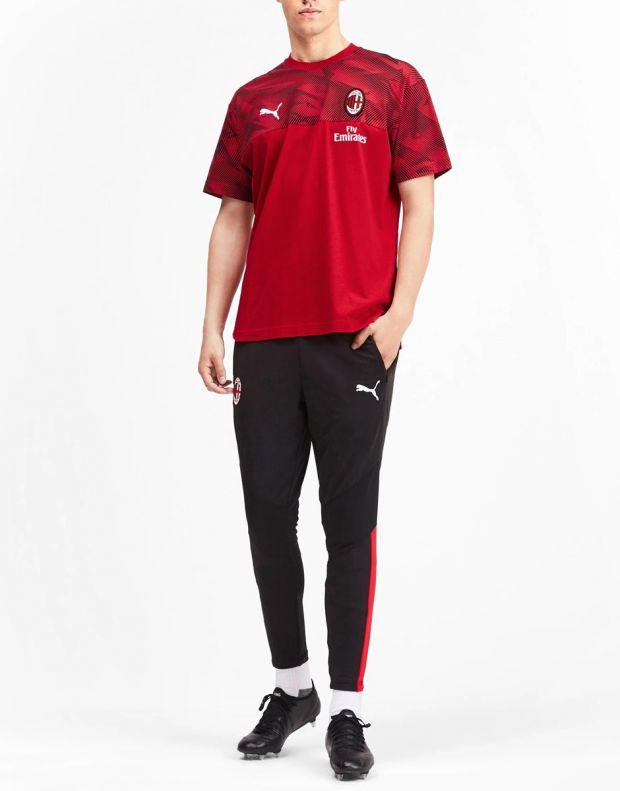PUMA AC Milan Casuals Tee Red - 756150-01 - 3