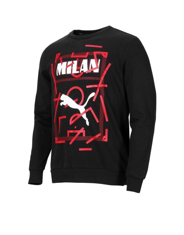 PUMA AC Milan Dna Sweater Kids Black - 756024-03 - 1
