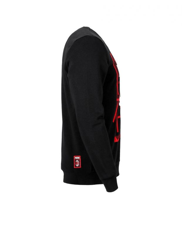 PUMA AC Milan Dna Sweater Kids Black - 756024-03 - 3