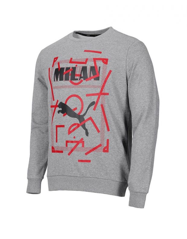 PUMA AC Milan Dna Sweater Kids Grey - 756024-08 - 1