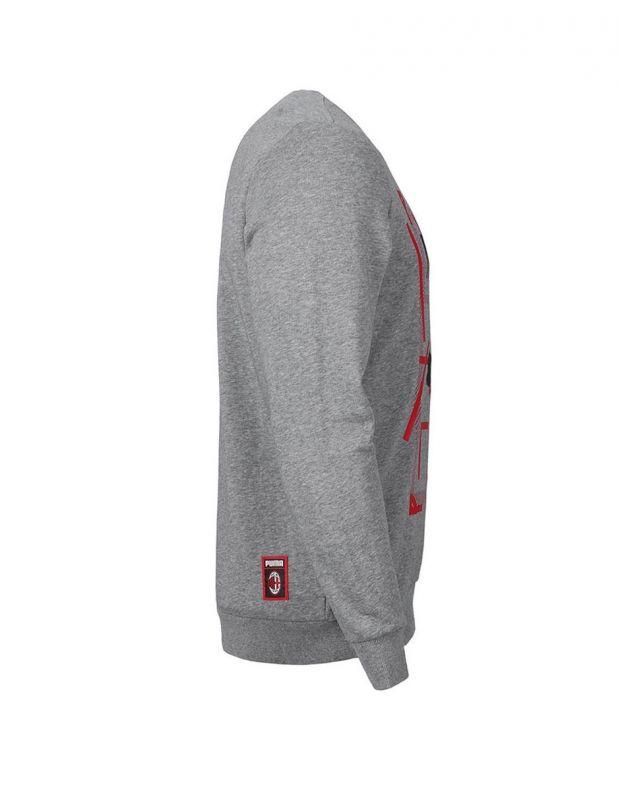 PUMA AC Milan Dna Sweater Kids Grey - 756024-08 - 2