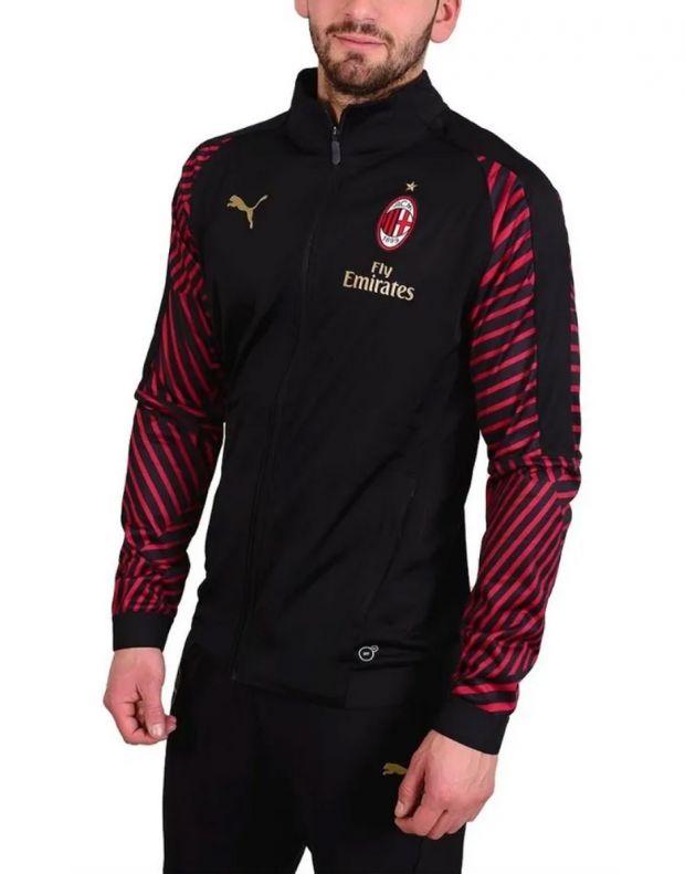 PUMA Ac Milan Stadium Jacket Black - 2