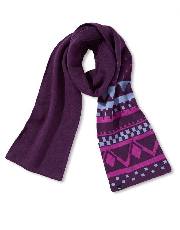 PUMA Akutan Casual Scarf Purple - 052456-02 - 1