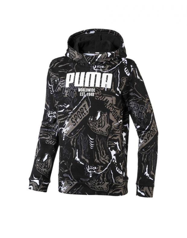 PUMA Alpha AOP Hoody Black - 580237-01 - 1