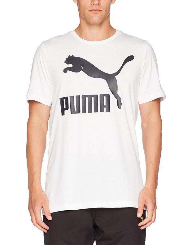 PUMA Archive Logo Print Tee White - 1