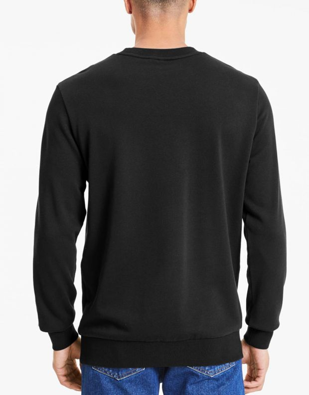 PUMA Avenir Graphic Crew Neck Sweater Black - 597046-01 - 2
