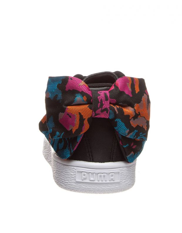 PUMA Basket Bow Wonderland Trainer Black - 369239-01 - 3